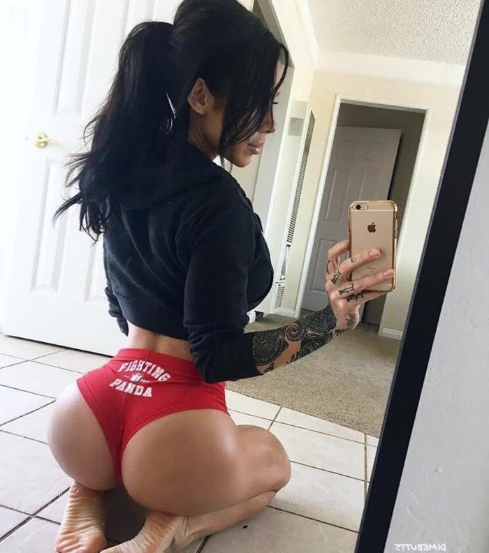 bum of girls repost dimebutts__ and hot girls in white yoga pants