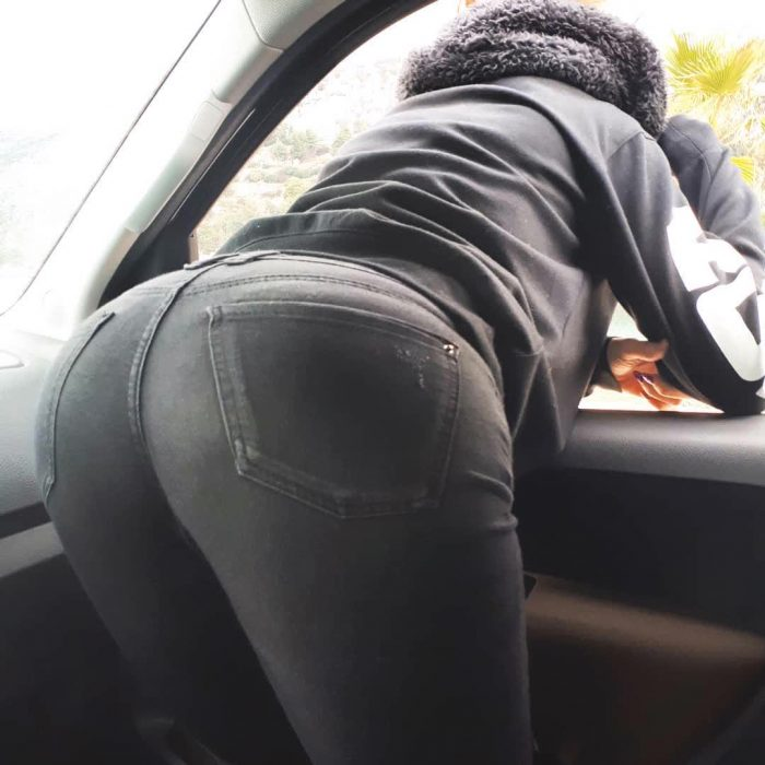 ass fast repost booty  and black boots for woman